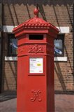 GR Post Box, Gloucester, Gloucestershire, England