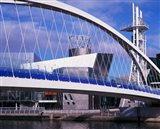 Lowry Centre, Art Gallery, Salford Quays, Manchester, England