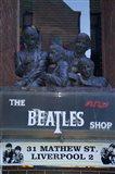 The Beatles Shop, Mathew Street, Liverpool, England