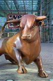 Bull in Bull Ring, Birmingham, England