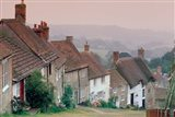 Town Architecture, Shaftesbury, Gold Hill, Dorset, England