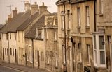High Street Buildings, Cotswold Village, Gloucestershire, England