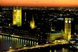 Big Ben and the Houses of Parliament at Dusk, London, England