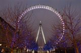 England, London, London Eye Amusement Park