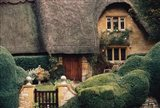 Thatched Roof Home and Garden, Chipping Campden, England,