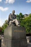 Slovakia, Bratislava, statue of Hviezdoslav