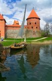 Island Castle by Lake Galve, Trakai, Lithuania I