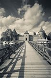 Island Castle by Lake Galve, Trakai, Lithuania IV
