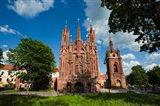 St Anne and Bernardine Churche, Vilnius, Lithuania