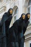 Lithuania, Vilnius, Three Muses statue