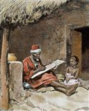 An Old Man With Child French Sudan 1893