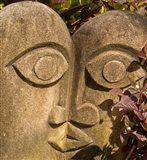 Fiji, Viti Levu, Stone carved sculpture