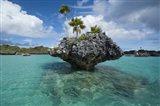 Scenic lagoon, Southern Lau Group, Island of Fulanga, Fiji