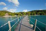 Pier at Likuliku Lagoon Resort, Malolo Island, Fiji