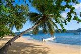 Boats at Matangi Private Island Resort, Fiji