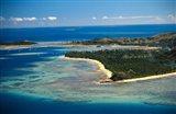 Aerial View of Malolo Lailai Island, Mamanuca Islands, Fiji