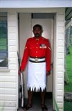 Guard, Former Government House, Suva, Fiji