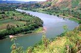 Sigatoka River Seen From Tavuni Hill Fort, Coral Coast, Viti Levu, Fiji