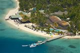 Aerial View of Plantation Island Resort, Malolo Lailai Island, Fiji