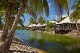 Lagoon Bures, Musket Cove Island, Malolo Lailai, Fiji