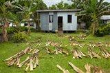Iron house, Namaqumaqua village, Viti Levu, Fiji