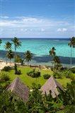 Crusoe's Retreat and coral reef, Coral Coast, Viti Levu, Fiji
