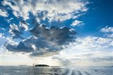 Dramatic clouds at sunset over the Mamanucas Islands, Fiji, South Pacific