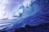 Surfing waves, Fiji Islands