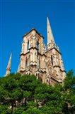 Facade Of Iglesia Del Sagrado Corazon, Cordoba, Argentina