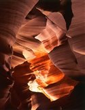 Red Sandstone Walls, Lower Antelope Canyon (Color)
