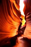 Antelope Canyon Silhouettes in Page, Arizona