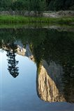 Reflection of El Capitan in Mercede River, Yosemite National Park, California - Vertical