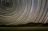 California, Death Valley Star Streaks