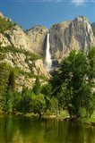 Upper Yosemite Falls, Merced River, Yosemite NP, California