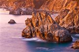 Evening Light On The Big Sur Coast