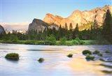 Bridal Falls, Yosemite, California,
