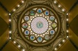 Rotunda Ceiling, Massachusetts State House, Boston