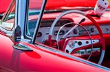 Classic Interior At An Antique Car Show