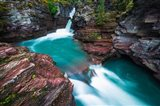 St Mary Falls, Glacier National Park, Montana