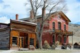 An 1862 Gold Rush Town In Bannack, Montana