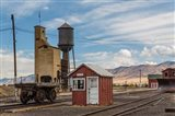 Detail Of Historic Railroad Station, Nevada
