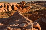Fire Wave At Sunset, Valley Of Fire State Park, Nevada