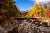 Bridge, Swift River Waterfalls, New Hampshire