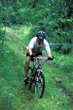 Mountain Biking on Providence Pond Loop Trail, White Mountain National Forest, New Hampshire