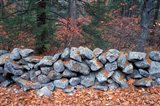 Stone Wall next to Sheepboro Road, New Hampshire