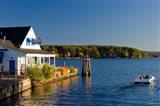 Wolfeboro Dockside Grille on Lake Winnipesauke, New Hampshire