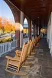 Front Porch of the Hanover Inn, Dartmouth College Green, Hanover, New Hampshire