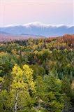 Dusk and Mount Washington, White Mountains, Bethlehem, New Hampshire
