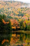 Ammonoosuc Lake in fall, White Mountain National Forest, New Hampshire