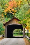Coombs Covered Bridge, Ashuelot River in Winchester, New Hampshire
